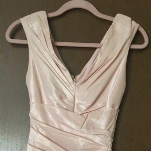 Soft Pink Lè Cheatue Dress